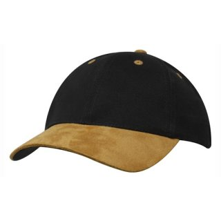 CAPSTADT STRAPBACK  CAP - BRUSHED HEAVY COTTON MIT SCHIRM IN WILDLEDEROPTIK