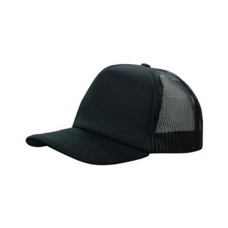 HEADWEAR  SNAPBACK - 5 PANEL TRUCKER MESH CAP